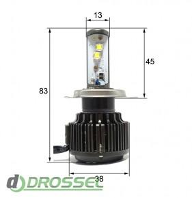 Светодиодная (LED) лампа Sho-Me G1.1 H4 40W_8