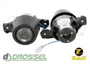 Штатные биксеноновые линзы ПТФ Zax Bi-Fog SP 008 BMW X5 E70, X3