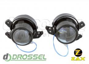 Штатные биксеноновые линзы ПТФ Zax Bi-Fog SP 006