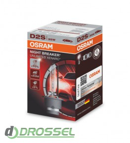 Osram D2S Xenarc Night Breaker Unlimited 66240XNB