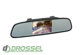 Зеркало заднего вида с монитором Phantom RM-50