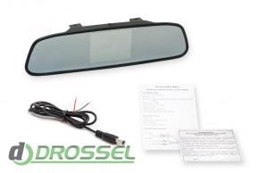 Зеркало заднего вида с монитором Phantom RM-50_4