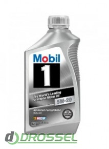 Моторное масло Mobil 1 5w-20 (USA) 103008